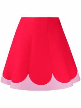 Valentino двухцветная юбка А-силуэта TB3RA5F01CF