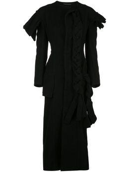 Yohji Yamamoto трикотажное платье FCD08101