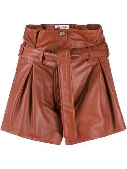 The Attico шорты со складками 201WCP02L001