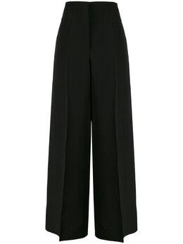 Jil Sander брюки широкого кроя с завышенной талией JSCQ301301WQ390300