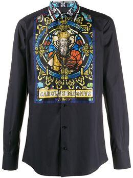 Dolce&Gabbana рубашка с принтом G5GT1TGEL91