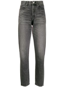 Saint Laurent джинсы прямого кроя с завышенной талией 596954Y899O