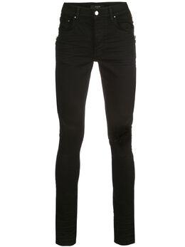 Amiri джинсы скинни с эффектом потертости S0M01154SD