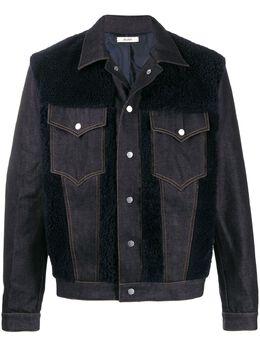 Zilver джинсовая куртка со вставками RE20MJK03B