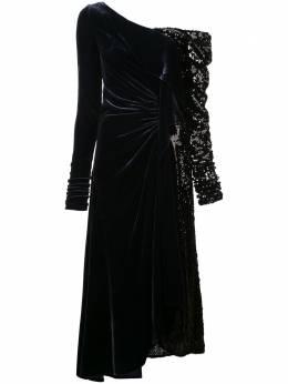 Monse платье с боковым разрезом MF18V0304EMB