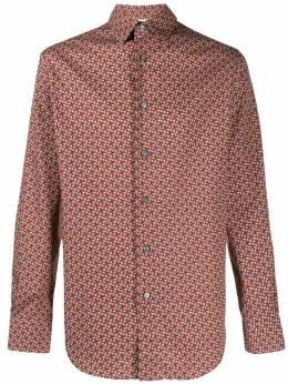 Brioni рубашка с геометричным принтом SCCC0LP9067