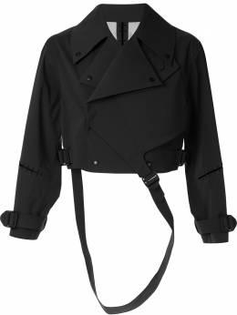 Yang Li укороченная байкерская куртка HF618499