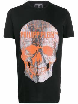 Philipp Plein футболка с принтом S20CMTK4337PJY002N