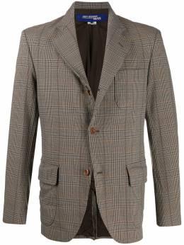 Junya Watanabe Man клетчатый пиджак строгого кроя WDJ053W19