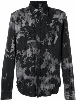 Philipp Plein классическая джинсовая рубашка P19CMDP0099PDE004N