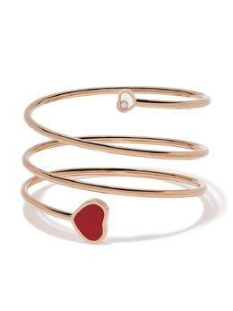 Chopard браслет Happy Hearts из розового золота с бриллиантом 85A0825700