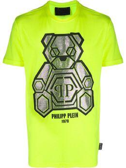 Philipp Plein футболка Teddy Bear S20CMTK4245PJY002N