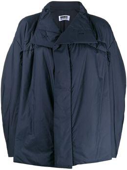 132 5. Issey Miyake куртка оверсайз с высоким воротником IL98FD331
