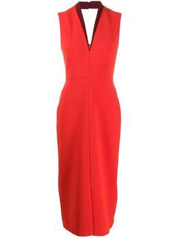 Victoria Beckham приталенное платье TUXFITTEDDRESSSS20P