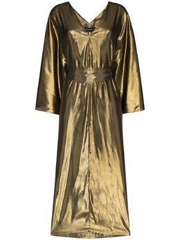 Haney платье миди с V-образным вырезом R20789111
