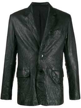 Zadig & Voltaire пиджак с жатым эффектом SJCU1402H