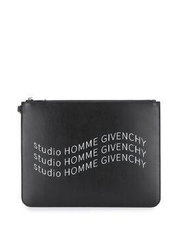 Givenchy клатч на молнии с логотипом BK600JK0UR