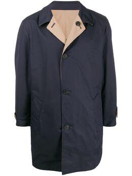 Brunello Cucinelli двустороннее пальто строгого кроя MD4506148CZ394
