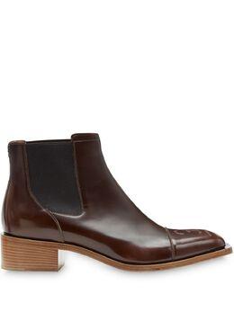 Fendi ботинки челси с квадратным носком 7U1265A8PD