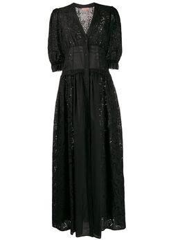 Ermanno Scervino платье с вырезами D364Q324RGW