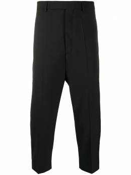 Rick Owens укороченные брюки строгого кроя RU20S7359WA