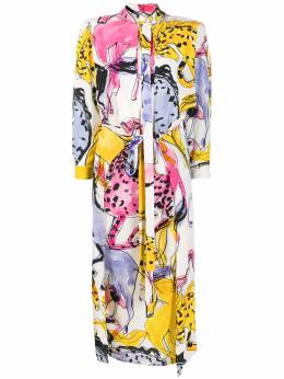 Stella McCartney платье-рубашка с принтом 600399SOA08