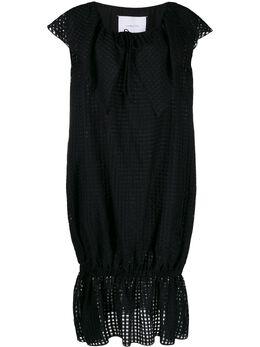 Pushbutton платье миди с короткими рукавами PB2010505W