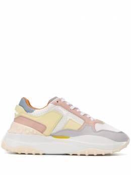 Tod's кроссовки со вставками XXW45B0BB51NKH0ON7