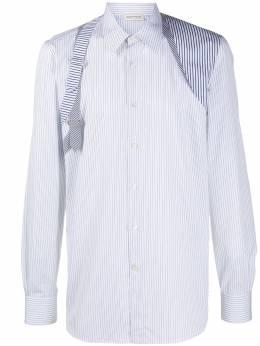 Alexander McQueen рубашка в полоску 599431QOZ54