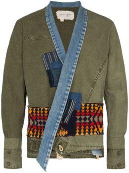 Greg Lauren куртка в технике пэчворк SS20M134