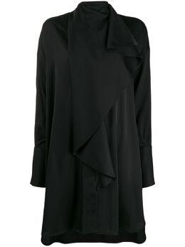 Ellery платье Metrique с драпировкой 9PD160DG