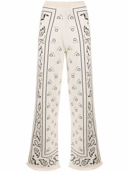 Barrie расклешенные брюки вязки интарсия C135673
