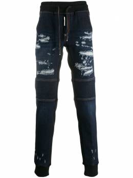 Philipp Plein джинсы с контрастной вставкой S20CMDT2033PDE004N