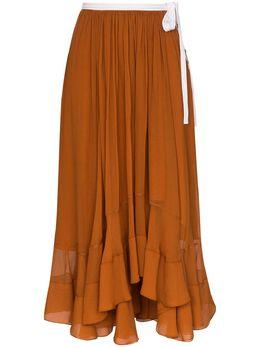 Chloe юбка миди с лентой CHC20SJU23001