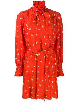 Marc Jacobs платье-рубашка с графичным принтом из коллаборации с Magda Archer V5000034600