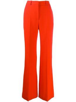 Victoria Beckham брюки широкого кроя с завышенной талией 1120WTR000606E