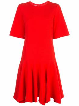 Oscar De La Renta dropped waist dress 19FN2092STWCAY