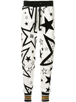 Dolce&Gabbana спортивные брюки с принтом FTBM2TG7UAL