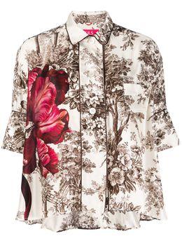 F.R.S For Restless Sleepers блузка с цветочным принтом CA000145TE00443