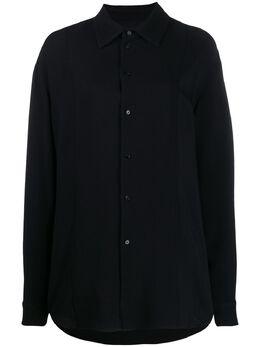 Jil Sander рубашка оверсайз на пуговицах JSCQ600405WQ390602