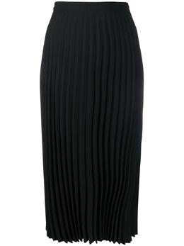 Mm6 Maison Margiela плиссированная юбка миди S52MA0095S43455