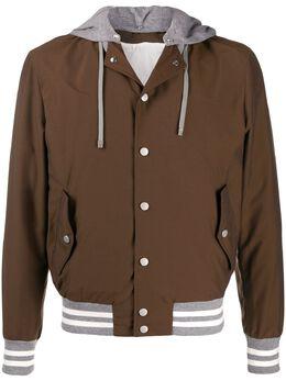 Eleventy многослойная куртка с капюшоном A75GBTA22GBT27007