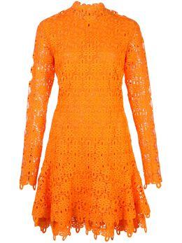 Jonathan Simkhai короткое платье с кружевными вставками 1201025H