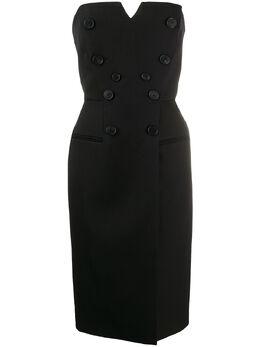 Givenchy платье миди без бретелей BW20SE11BN