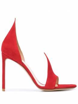 Francesco Russo босоножки на высоком каблуке R1S087201R20