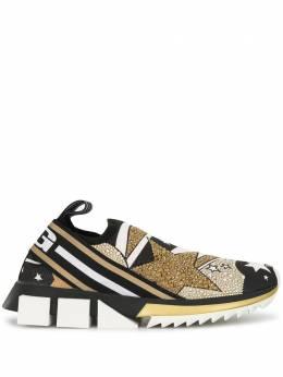 Dolce&Gabbana слипоны Sorrento с принтом CK1595AJ606