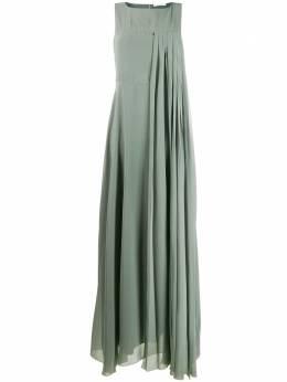Fabiana Filippi шифоновое плиссированное платье ABD260W3260000A557