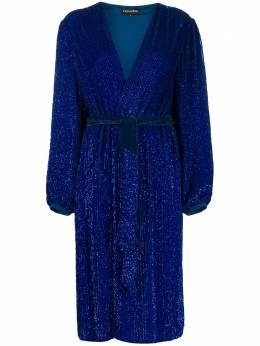 Retrofete платье с запахом и блестками HL202249