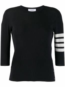 Thom Browne футболка с полосками 4-Bar FKA259A06223