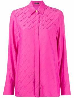 Versace рубашка с принтом GG A82662A232876